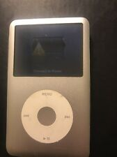 Apple iPod Classic A1238 120 GB 7th Gen Silver - For Parts As-is