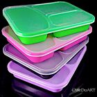 Color Divided storage Lunch Box container Freeze store & serve, Microwave safe