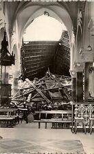 CARTE POSTALE IZEL LEZ HAMEAU L'EGLISE DETRUITE LE 21 FEVRIER 1967