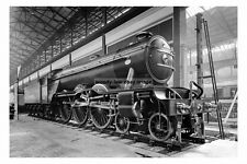 pt1708 - Flying Scotsman at Wembley Exhibition of 1924 , London - photograph 6x4