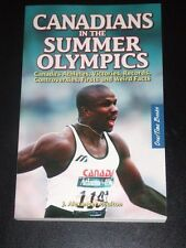 CANADIANS IN THE SUMMER OLYMPICS by J. Alexander Poulton 2008 NEW