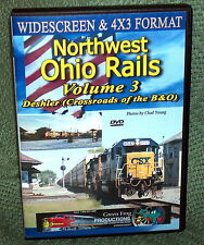 "20326 TRAIN VIDEO DVD ""NORTHWEST OHIO RAILS VOL 3"" 2014"