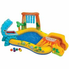 Intex Dinosaur Play Center Inflatable Kids Set & Swimming Pool