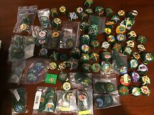 Recently retired Junior Girl Scount badges (sold individually)