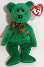 """TY Beanie Babies """"DAD-e 2004 (Super Dad)"""" Father's Day Teddy Bear - MWMTs! GIFT!"""