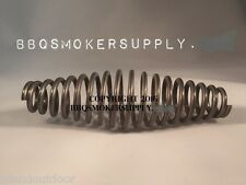 """5"""" inch STAINLESS steel SPRING HANDLE BBQ smoker grill pit wood furnace stove"""