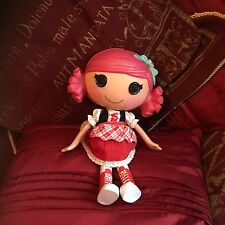"LALALOOPSY RED DOLL FIGURE 10"" TALL vgcc"