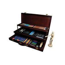 Royal & Langnickel Premier Sketching and Drawing Deluxe Art Set, 134-Piece New