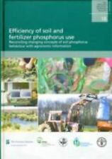 Efficiency of soil and fertilizer phosphorus use: Reconciling changing-ExLibrary