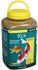 Pond One P1-26563 Koi Sticks 1.6Kg Bottle for Pond Fish