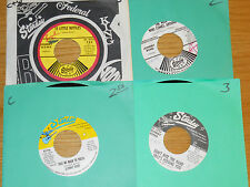 LOT of 4 COUNTRY 45 RPMs - JOHNNY BOND - STARDAY 704 721 813 916