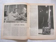 RSC CAPTAIN SWING theatre clipping ALAN RICKMAN ZOE WANAMAKER 3 pages  1978