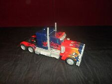 2007 Transformers Movie Leader Class Optimus Prime Figure Red Blue Big Truck
