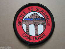 Settle 25 Scramble Challenge Walking Hiking Cloth Patch Badge