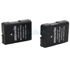2x1200mAh Battery for Nikon EN-EL14 ENEL14 Nikon COOLPIX D3100 D3200 P7000 P7700