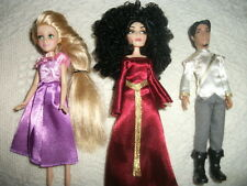 Disney Store Tangled Ever After Mini Princess Doll Set Rapunzel Mother Gothel