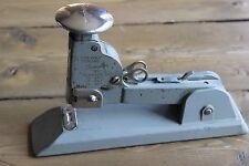 Vintage Swingline Heavy Duty No.13 Office STAPLER Industrial Metal Chrome & Gray