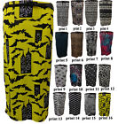 NEW WOMENS PRINTED BODYCON BELTED PENCIL MIDI HOT SEXY SKIRT S/M M/L