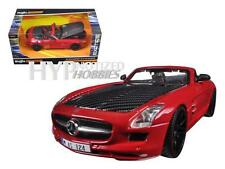 MAISTO 1:24 EXOTICS MERCEDES-BENZ SLS AMG ROADSTER DIE-CAST RED 31370