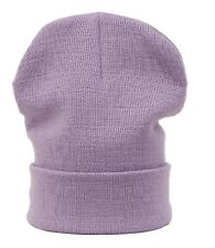 Winter Worm Plain BEANIE HAT Knitted Wooly Fashion for Ski Snowboard