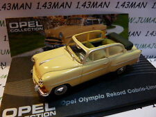 voiture 1/43 IXO eagle moss OPEL collection : Olympia rekord cabrio 1954/1956