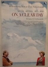 Original Movie Poster On A Clear Day Double Sided 27x40