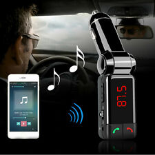 Bluetooth Coche MP3 FM Transmisor USB Cargador Manos libres para iPhone