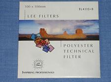Lee Wratten Filter  100x100  FL 4300-B