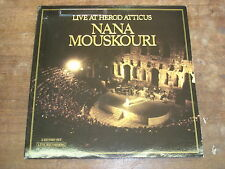 NANA MOUSKOURI Live at Herod Atticus 2LP