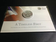 2013 ROYAL MINT St GEORGE & DRAGON £20 TWENTY POUND SOLID SILVER COIN LTD EDT