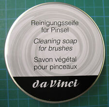 Da Vinci professional artists brush dressing soap 85g in tin