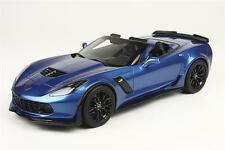 Corvette C7 Z06 Spyder 2015 Laguna Blue Leatherette Base 1/18 by BBR 1899A0 New