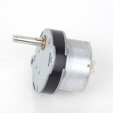 12V DC 3RPM 40mm Powerful High Torque Gear Box Motor Speed Reduction Toy