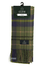 PURE NEW WOOL TARTAN CLAN SCARF - GREAT GIFT - TAYLOR
