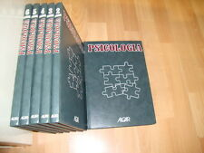 ENCICLOPEDIA DE PSICOLOGIA POR EDICIONES ALGAR S.A. DEL AÑO 1987 CON 6 TOMOS