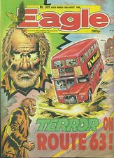 EAGLE #335 weekly British comic book August 20 1988 VG+ Visionaries back cover