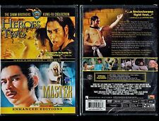Shaw Brothers Kung Fu Collection - Heroes Two/The Master - Brand New 2-Disc Set