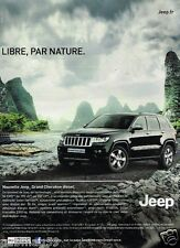 Publicité advertising 2012 Jeep Grand Cherokee Diesel 4X4