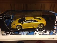 1:18 lamborghini murcielago westcoast custom hot wheels yellow whips