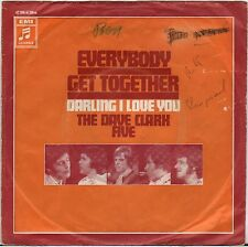 """THE DAVE CLARK FIVE """"EVERYBODY GET TOGETHER"""" SP 1970  COLUMBIA"""