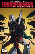 Transformers Windblade Combiner Wars #7 (NM) `15 Scott/ Howell (Sub Cover)