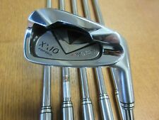 USED XXIO Japan Forged 5-PW Iron Set N.S PRO 950GH D.S.T steel Stiff Flex