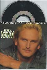 TERRY NEWMAN - Romancin' round the world CD SINGLE 2TR CARDSLEEVE 1991 Holland