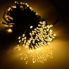 73ft Warm White Solar Power 200LED String Fairy Light Outdoor Wedding Party Xmas