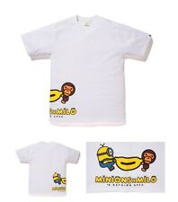 Bape X Minions *brand new White Toddler Size 100