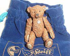 Miniatura De Oso De Peluche Steiff estaño - 1905-chica Oso De Peluche Nuevo En Bolsa