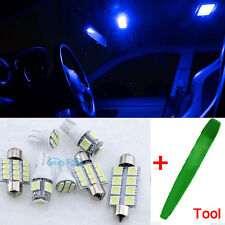 Bright Blue Interior Car LED SMD Light Bulbs Kit For Ford Focus II MK2 + Tool