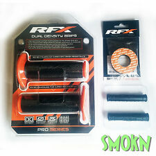 RFX Dual Compound Handle Bar Grips, Donuts & Silicone Lever Sleeves KTM 125 EXC