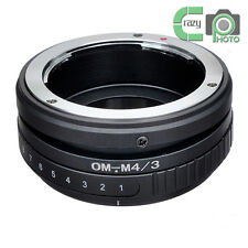 OM-M4/3 Tilt Adapter for Olympus OM t Lens to Micro 4/3 E-P1 E-PL2 DMC G1 GF2