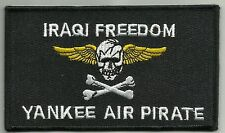 VF-84 Aviation Fighter Squad Military Patch IRAQI FREEDOM YANKEE AIR PIRATE OIF